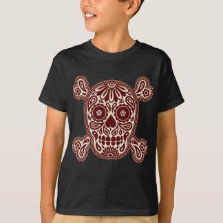 Brown-Zuckerschädel T-Shirt