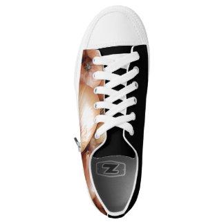 Brown-Zwiebeln Niedrig-geschnittene Sneaker