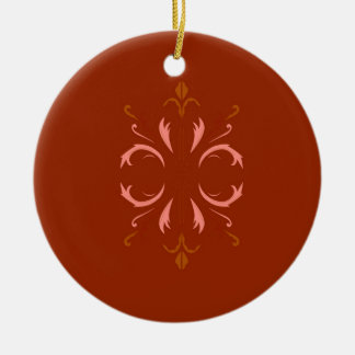 BrownMandala ÖKO Keramik Ornament