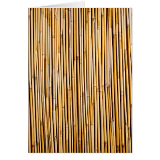Browntropische BambusPflanze botanisch Karte
