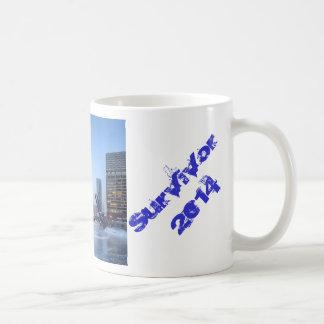 Brrr-mageddon Überlebender 2014 Kaffeetasse