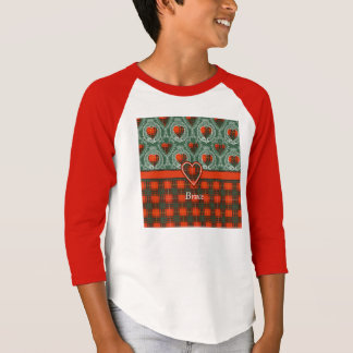 Bruce-Clan karierter schottischer Tartan T-Shirt