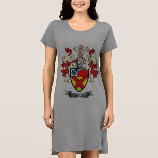Bruce-Familienwappen-Wappen Kleid