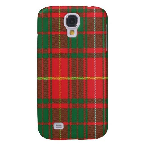 Bruce schottischer Tartan Samsung rufen Fall an Galaxy S4 Hülle