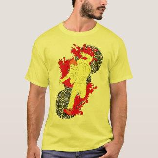 Bruch an durch T-Shirt