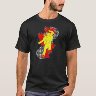 Bruch durch T-Shirt