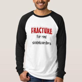 BRUCH, für wirkliche Skateboardfahrer T-Shirt