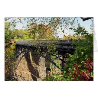 Brücke an Park Marys Ellen Kramer Great Falls, NJ Karte