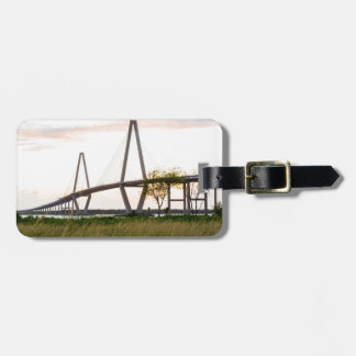 Brücke Charlestons South Carolina - Gepäckanhänger