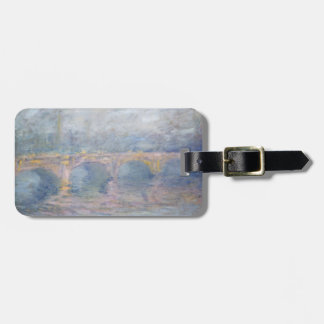 Brücke Claude Monets | Waterloo, London, am Gepäckanhänger