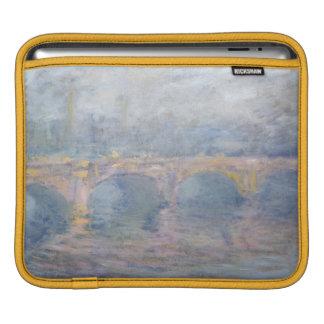 Brücke Claude Monets | Waterloo, London, am iPad Sleeve