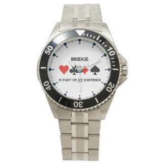 Brücke ist ein Teil meiner Karten-Anzüge des Armbanduhr