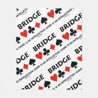 Brücke ist eine intellektuelle Karten-Anzüge des Fleecedecke