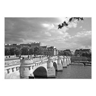 Brücke Pont Neuf. Paris Fotodruck