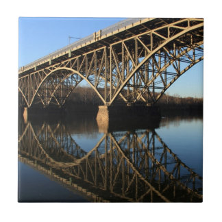 Brücke über Schuylkill Fluss Fliese