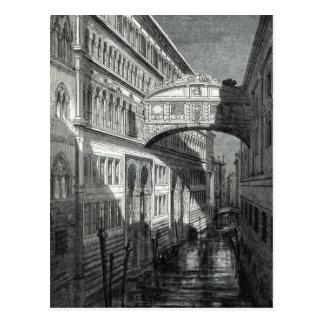 Brücke von Seufzern, Venedig Postkarte
