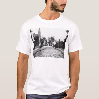 Brücke zur Kathedrale, Breslau Polen, c.1910 T-Shirt