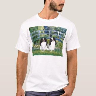 Brücke - zwei japanische Kinne (2BW) T-Shirt