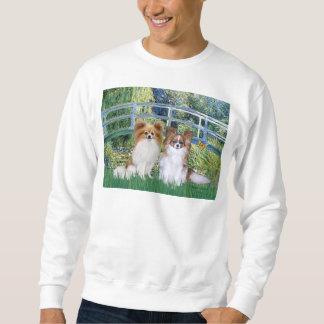 Brücke - zwei Papillons Sweatshirt