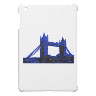 Brücken-blaues Schwarzes Englands London das iPad Mini Hülle
