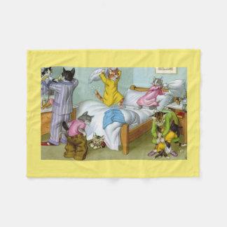 BRÜCKEN: Chaos am Bedtime - Fleece-Decke Fleecedecke