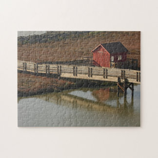 Brücken-Haus-Puzzlespiel Puzzle
