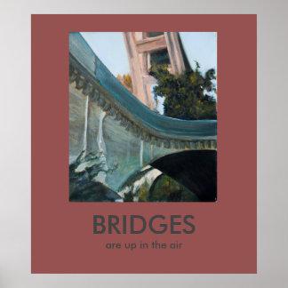 Brücken sind in der Luft Demotivational Plakat