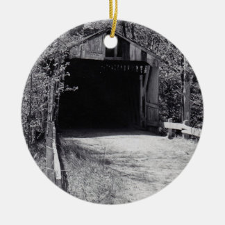 Brücken-u. Fluss-Kreis Keramik Ornament