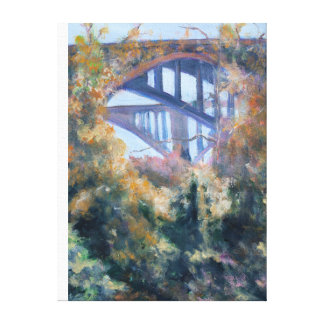 Brücken vom Arroyo Seco Leinwanddruck
