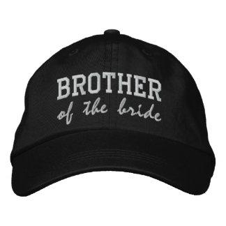 Bruder der Braut/des Bräutigams Bestickte Kappe
