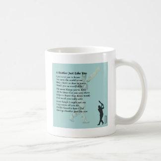 Bruder-Gedicht - Kricket Kaffeetasse