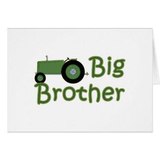 Bruder-grüner Traktor Karte