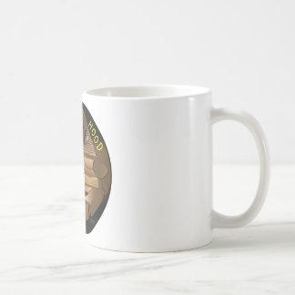 Bruder-Haubenschwarzes Kaffeetasse