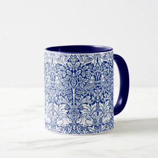 Bruder-Kaninchen-blaues Vintages Muster Williams Tasse