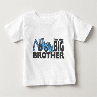 Bruder-Löffelbagger Baby T-shirt