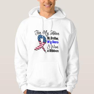 Bruder - mein Soldat, mein Held-patriotisches Band Hoodie
