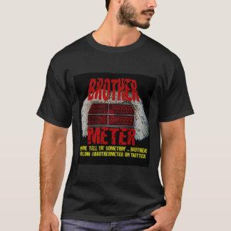 Bruder-Meter-Schwarz-T-Stück T-Shirt