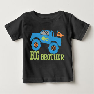 Bruder-Monster-LKW Baby T-shirt