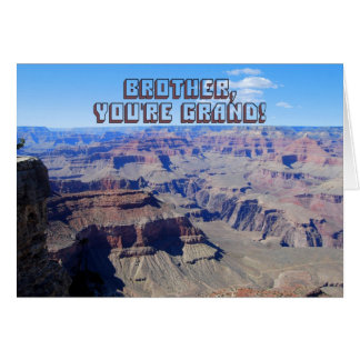 Bruder, sind Sie großartig! , Grand- Karte