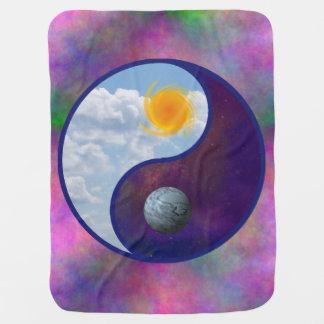Bruder Sun, Schwester-Mond-Baby-Decke Babydecke
