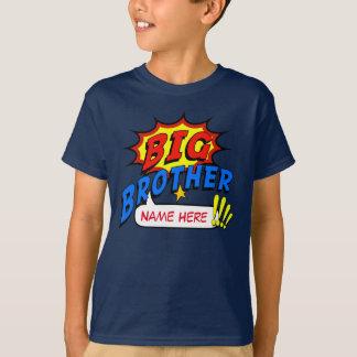 Bruder-Superheld-Gewohnheit T-Shirt