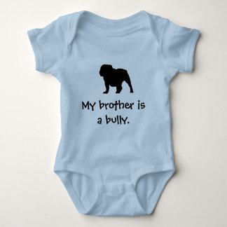 Bruder-Tyrann-Blau Baby Strampler
