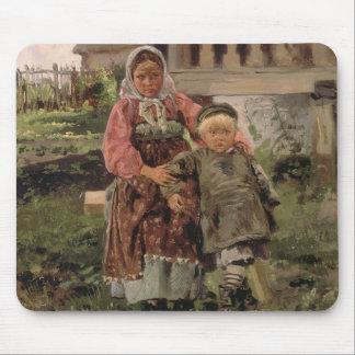 Bruder und Schwester, 1880 Mousepad
