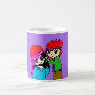 Bruder und Schwester Kaffeetasse