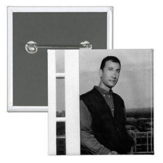 Bruder von Knopf Toms (Knäuel) Quadratischer Button 5,1 Cm