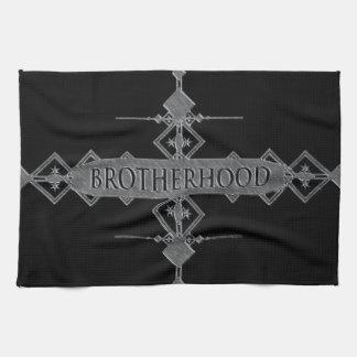 Bruderschaftskonzept Handtuch