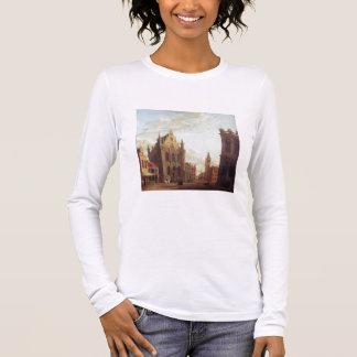 Brügge, 1824 (Öl auf Platte) Langarm T-Shirt