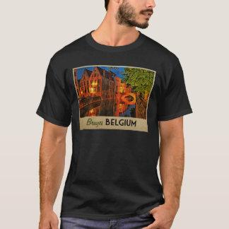 Brügge Belgien nachts T-Shirt