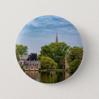 Brügge, Belgien Runder Button 5,1 Cm