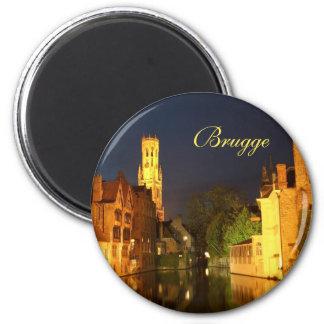 Brügge (Brügge), Belgien Runder Magnet 5,1 Cm